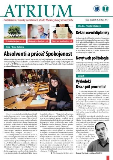 číslo 3 - jaro 2014