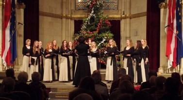 Kromě zahraničních i tuzemských soutěží vystupuje sbor Gloria Brunensis pravidelně i na koncertech. Foto: archiv Gloria Brunensis