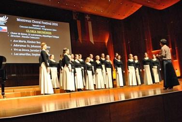 Za dosud největší úspěch sboru považuje Vlčková účast na švýcarském festivalu Montreux Choral Festival. Foto: archiv Gloria Brunensis