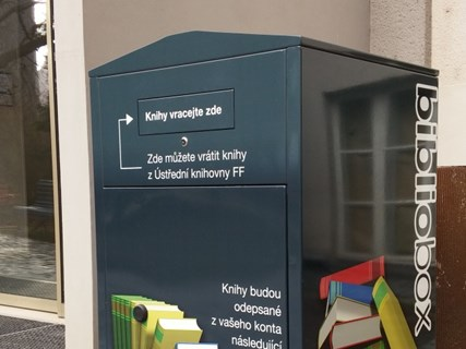 Bibliobox at the MU Faculty of Arts