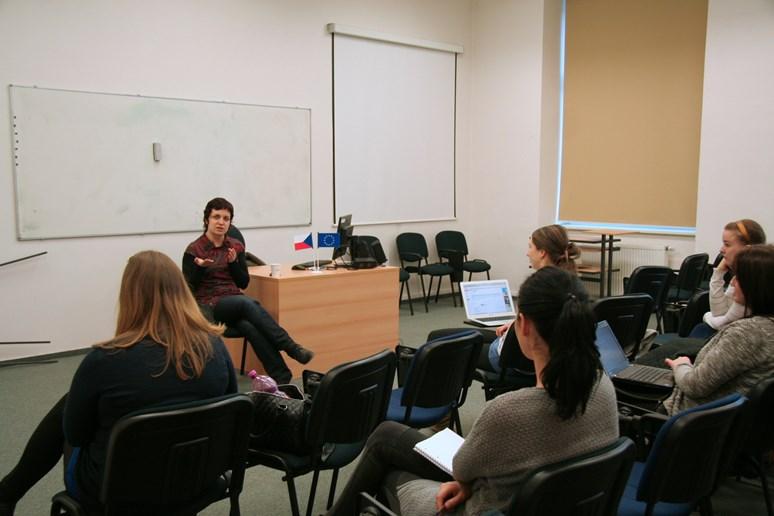 Kurz Právo a environmentální problémy je mezi studenty oblíbený. Foto: Zdeňka Lechnerová
