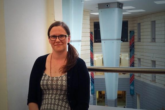 Výzkumnice Lenka Dědková se zabývá online riziky pro děti a dospívající. Foto: Zuzana Brandová