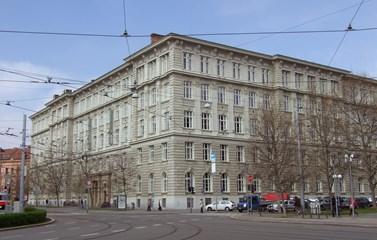 Budova fakulty sociálních studií. Foto: Zuzana Brandová