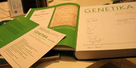 "Book launching ceremony of the Czech edition of ""Principles of Genetics"""