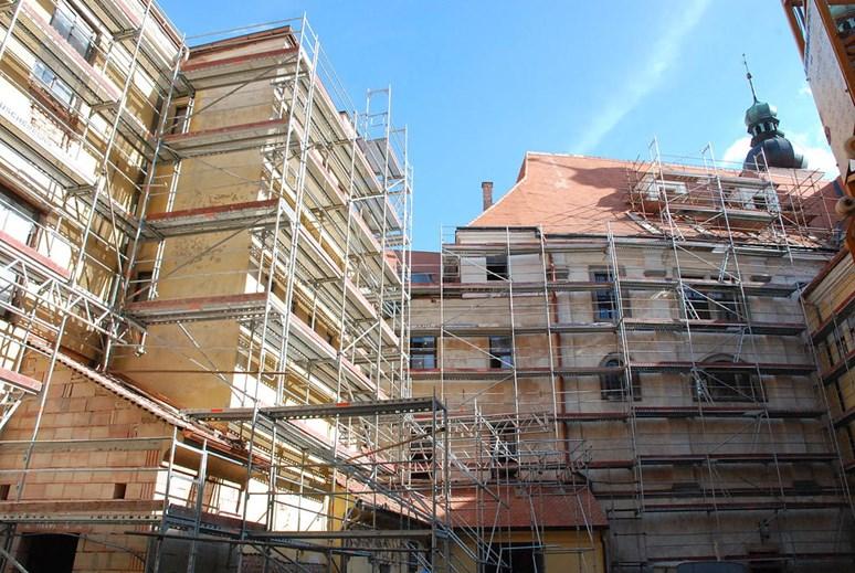 Rekonstrukce probíhající v letech 2009–2011