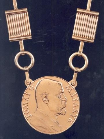Řetěz rektora Masarykovy univerzity z roku 1938