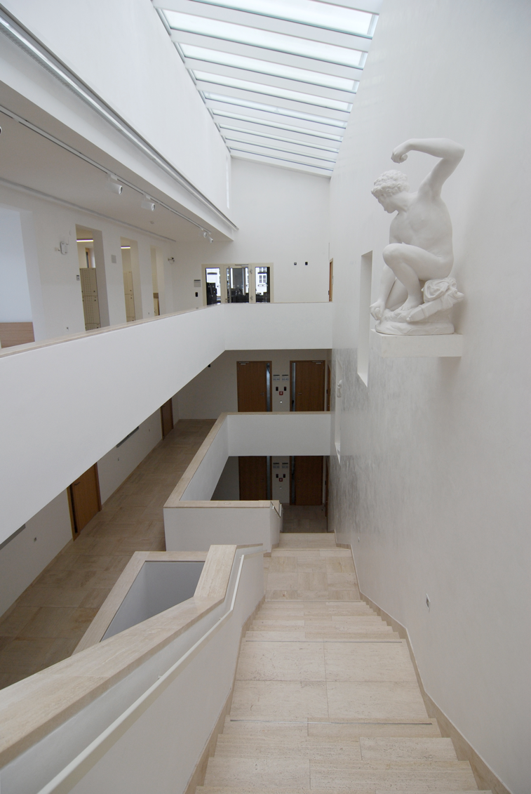 Faculty of Arts, inside building B2