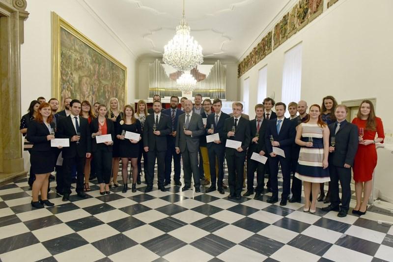 Vítězové Brno Ph.D. talent 2017 (zdroj: online.muni.cz)
