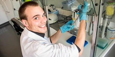 Doktorand zkoumá, jak geny ovlivňují růst svalů