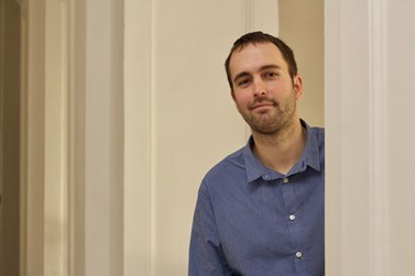 V tomto semestru Svoboda na fakultě vyučuje předmět On-line internetový deník Stisk. Foto: David Kohout