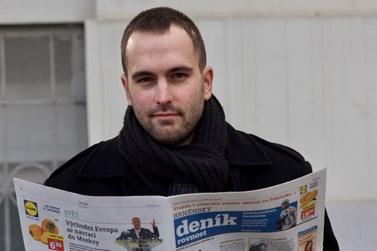 Na pozici zástupce krajského šéfredaktora Deníku řeší spíše organizační záležitosti. Foto: David Kohout