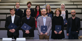 Úspěch studentů při udělování Ceny děkana FF MU 2016