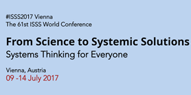 Annual World Conference (#ISSS2017 Vienna)