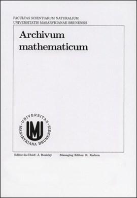 Archivum Mathematicum