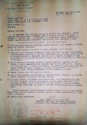 Vydavatelské oprávnění z roku 1964