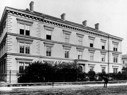 Gorkého 14, před rokem 1907