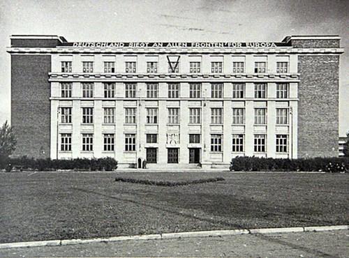 Budova Právnické fakulty - sídlo Gestapa, 1. pol. 40. let 20. stol.