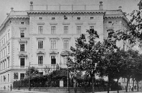 Kaunicův palác, 20.léta 20. stol.