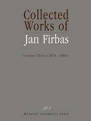 Collected Works of Jan Firbas: Volume Three