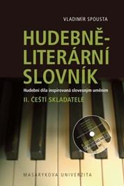 Hudebně-literární slovník: II. díl Čeští skladatelé