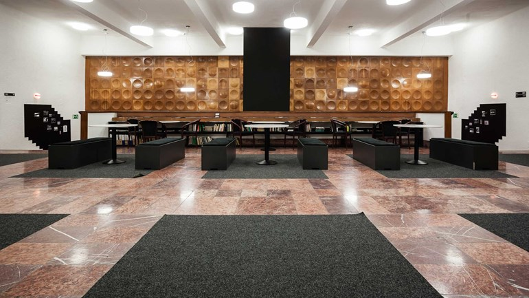 Univerzitní kino Scala - prostory