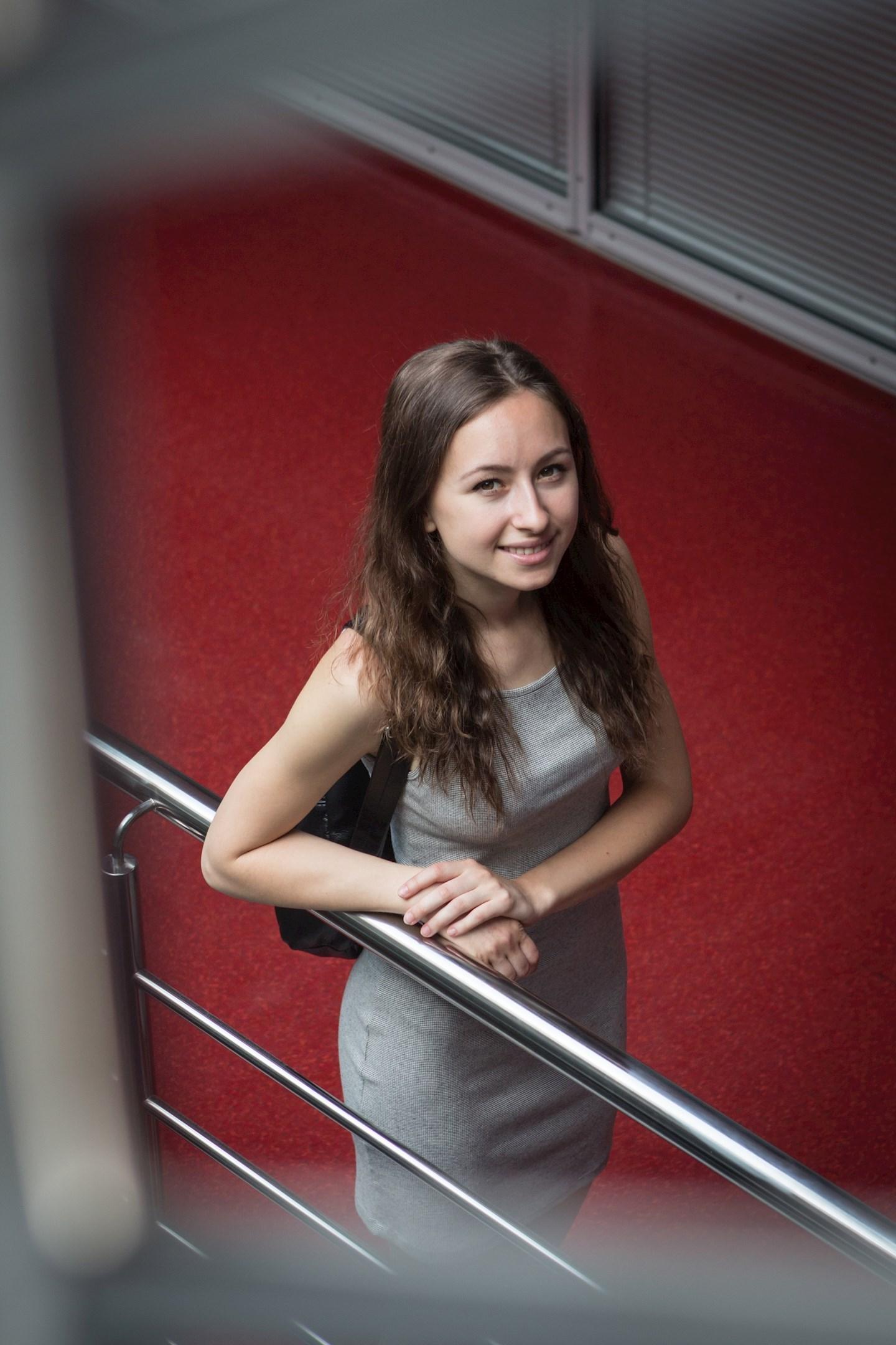 Natália Dudejová, studentka všeobecného lékařství z Piešťan