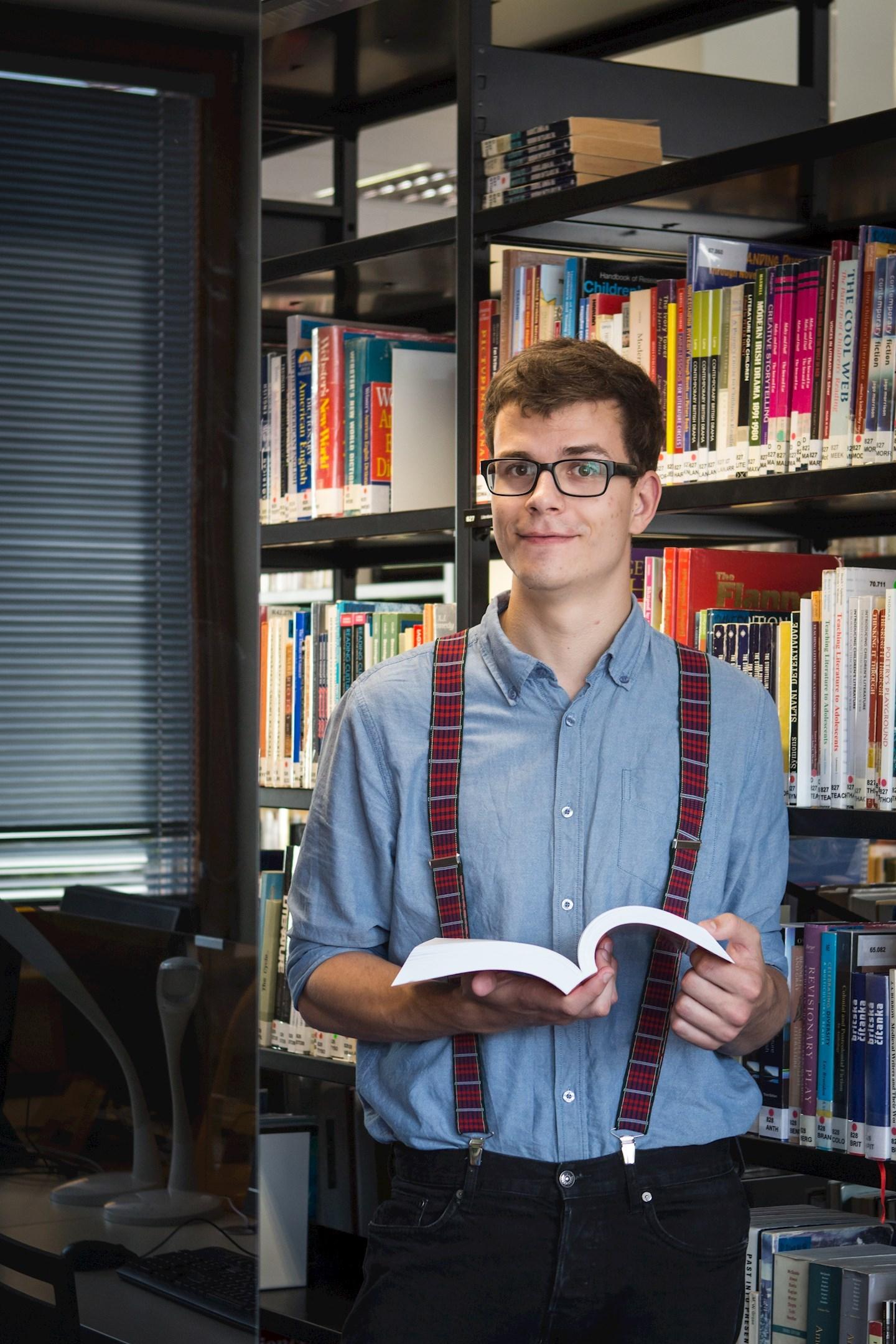 Štěpán Tichý, student anglického jazyka a literatury