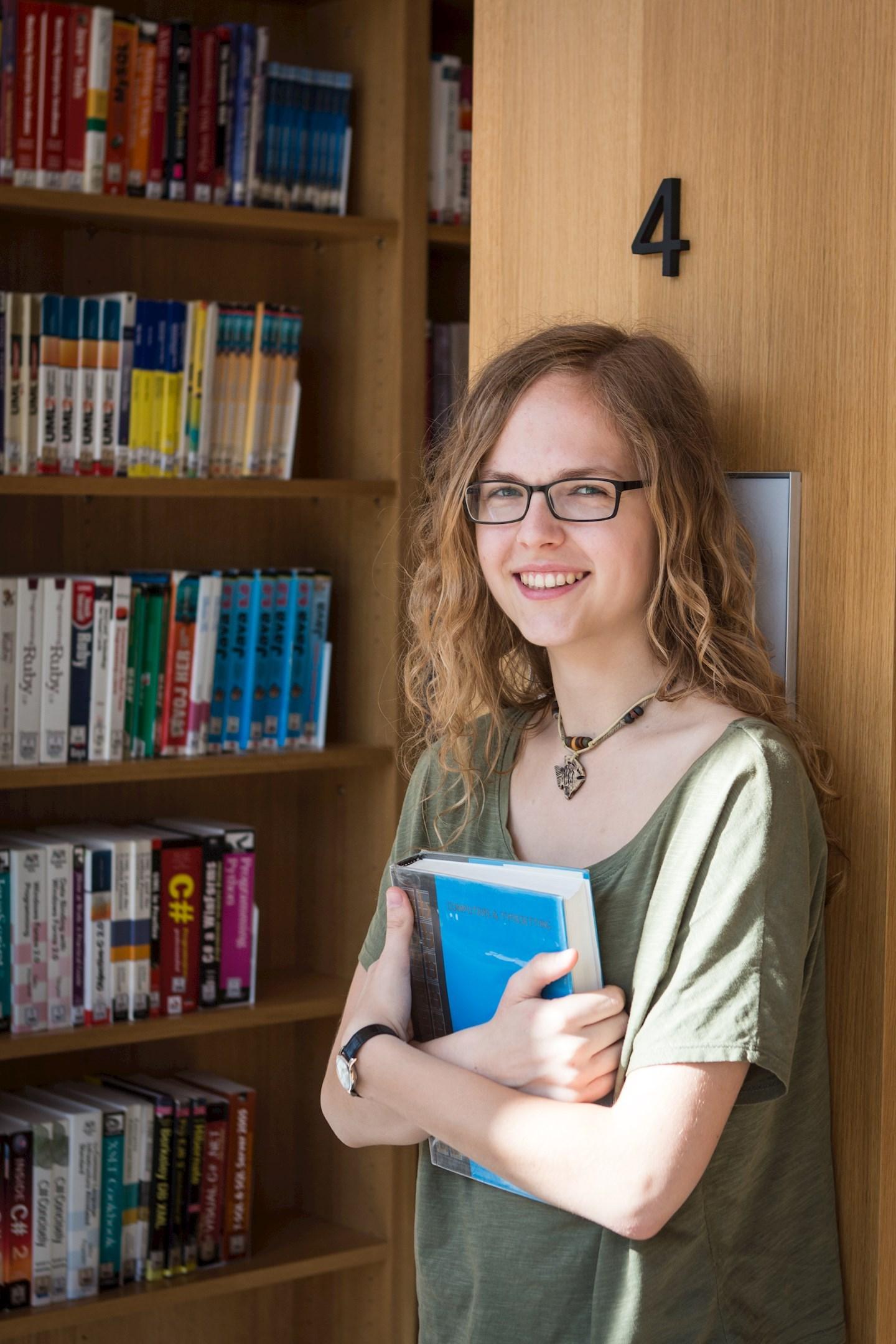 Dominika Krejčí, studentka aplikované informatiky z Brna