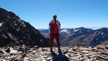 Rád tráví dovolenou například v Alpách. Foto: archiv Martina Vaculíka