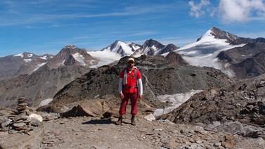 Ve volném čase Martin Vaculík rád běhá a leze po horách. Foto: archiv Martina Vaculíka
