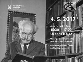 Zdeněk Nejedlý očima archivářů