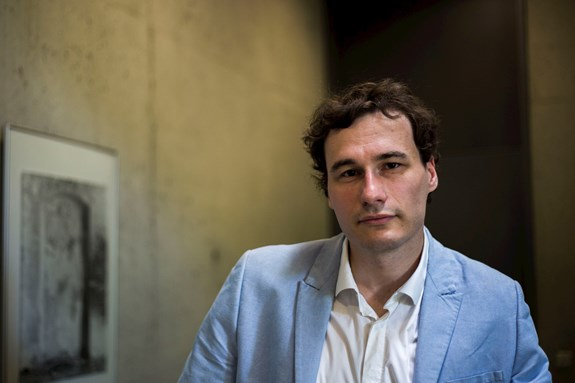 Při novinářské investigativní práci musel Lukáš Valášek čelit mnohým negativním reakcím jihomoravského exhejtmana Michala Haška. Foto David Kohout