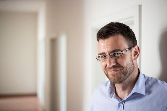 Hubert Smekal na fakultě sociálních studií působí jako vyučující. Věnuje se převážně lidským právům a rozsudkům v Evropské unii. Foto: David Kohout