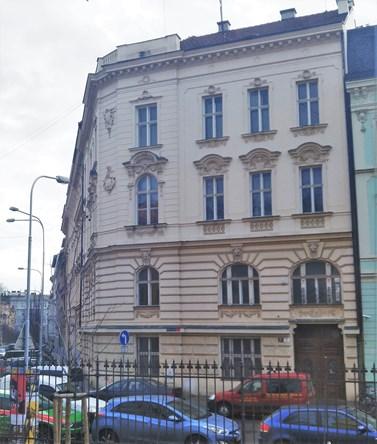 Budova VUT Gorkého 13.