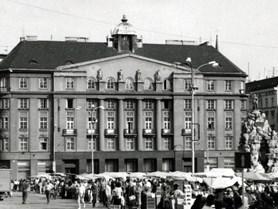 Budova na Zelném trhu.