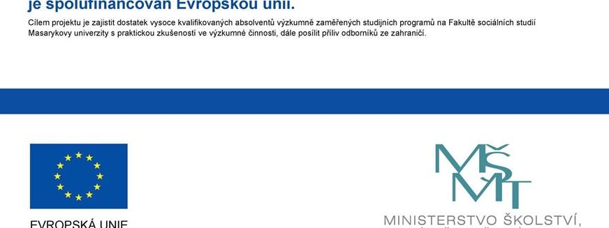 Rozvoj výzkumně zaměřených studijních programů na FSS
