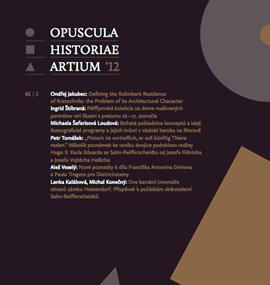 OPUSCULA HISTORIAE ARTIUM