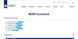 muni.cz a stavebnice MuniWeb