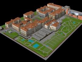 3D modely budov MU