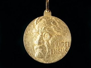 Front side of medal