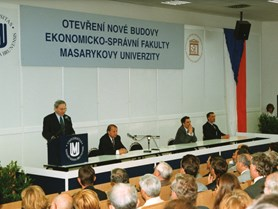 Opening of the new building