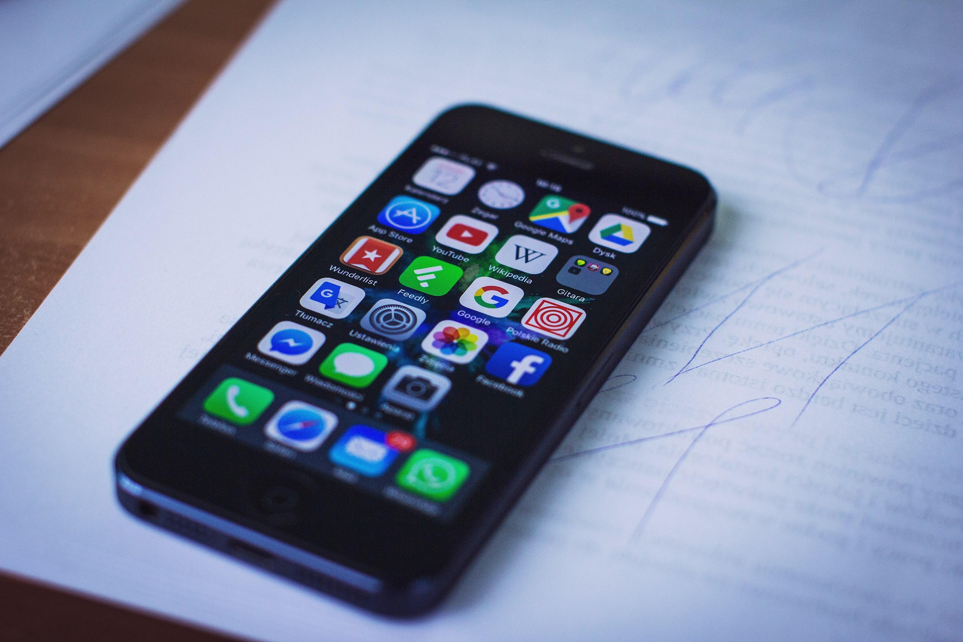 Chytrý telefon neboli smartphone