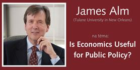 James Alm bude přednášet na ESF