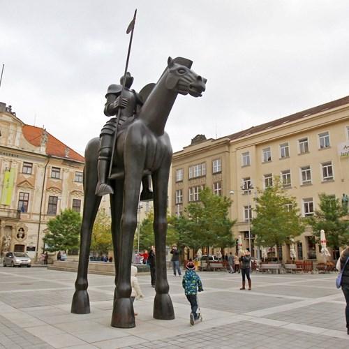 Equestrian statue of Margrave Jošt