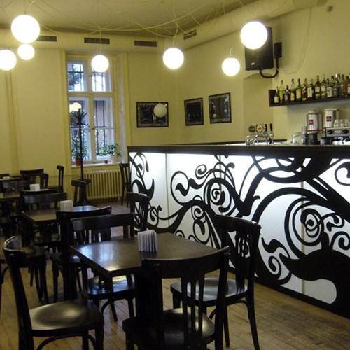 Stylish café bars