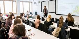 Setkání vyučujících se studenty (nejen) I. ročníků