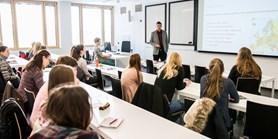 Prezentace ze schůzky se studenty I. ročníků Pedagogiky, Sociální pedagogiky a poradenství a Andragogiky