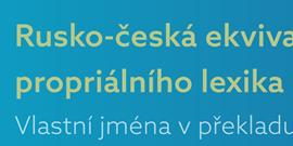 Nová publikace dr. Špačkové