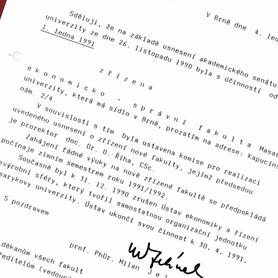 1990 – Proposal of establishment
