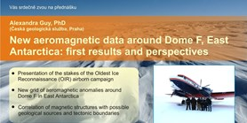 New aeromagnetic data around Dome F, East Antarctica: first results and perspectives